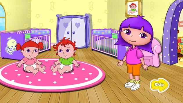 Anna Playtime with baby twins apk screenshot