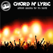 Chord and lyric music update icon