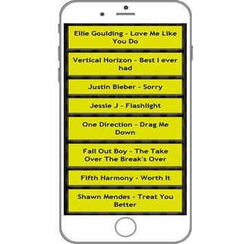 Chord and lyric music update screenshot 1