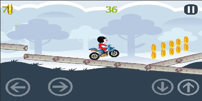 Doramon Bike Adventure screenshot 2