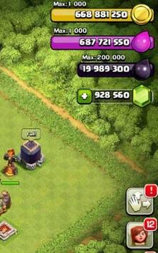 Gems for Clash of Clans screenshot 1