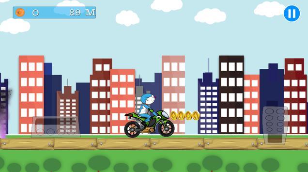 adventure of doraemon bike apk screenshot
