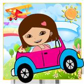 Dora the adventure racing 🏎 icon