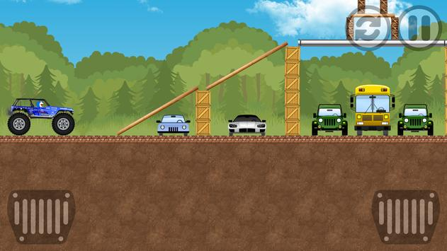 Dorae Run Monster Truck apk screenshot