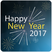 Happy New Year SMS 2017 icon