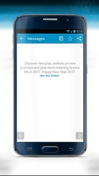 Happy New Year SMS 2017 screenshot 9