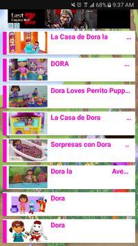 Videos de Dora en español apk screenshot