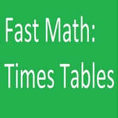 FastMath: Times Tables icon