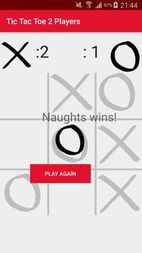 Tic Tac Toe 2 Players apk screenshot