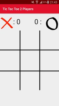 Tic Tac Toe 2 Players poster