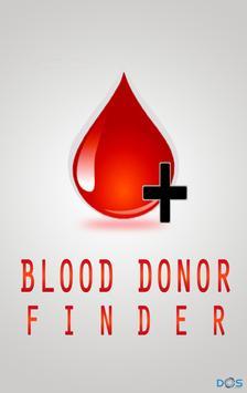 Blood Donor Finder (For BD) poster