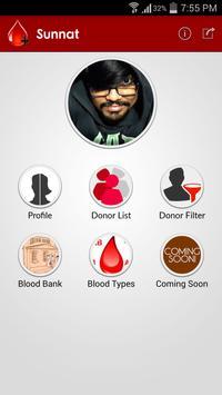 Blood Donor Finder (For BD) apk screenshot
