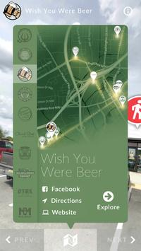Downtown Huntsville Craft Beer Trail poster