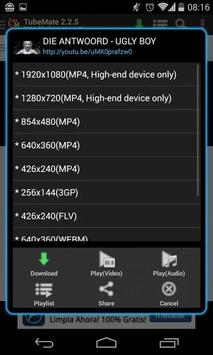 Tubema 2.6 apk screenshot