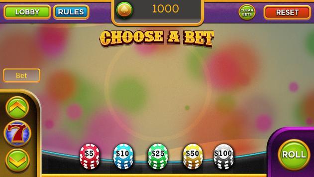 Craps - Casino Style Craps screenshot 2