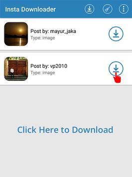 InstaDownload apk screenshot