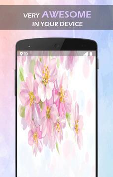 Aroma Sakura Flower wallpaper screenshot 3