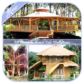 3D Bamboo House Live Wallpaper icon