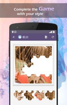 3D Bamboo House Live Wallpaper apk screenshot