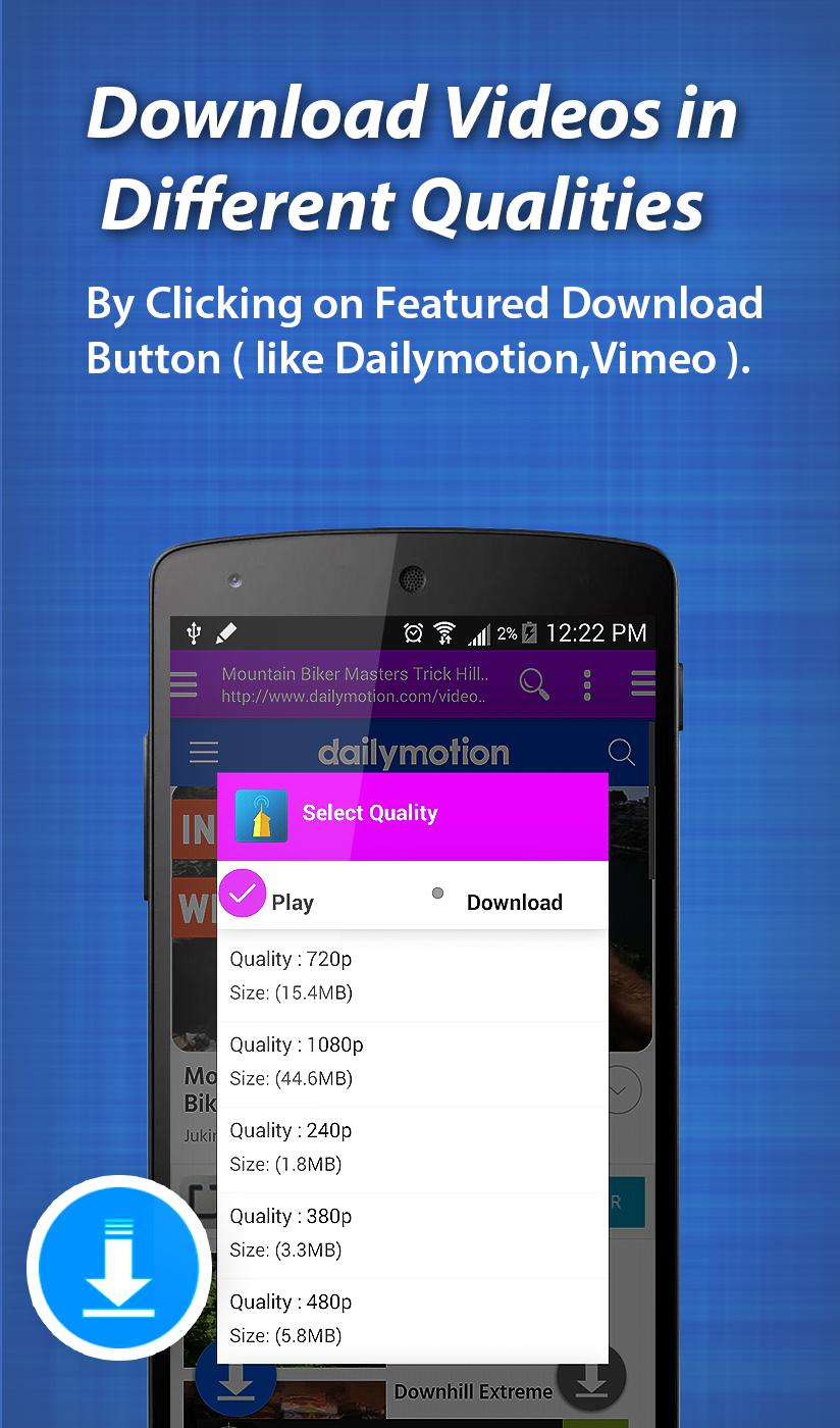 Any Video Downloader for Android - APK Download