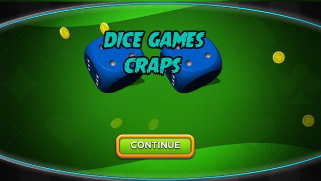 Craps - Casino Style Dice Games Craps poster