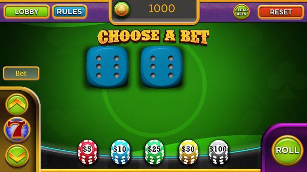 Craps - Casino Style Dice Games Craps screenshot 2