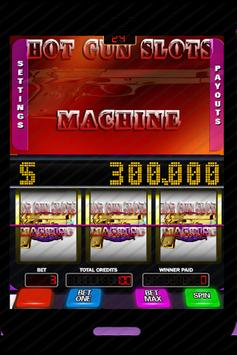 Gun Games - Hot Guns Slots Machine screenshot 1
