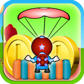 Skydiving games icon