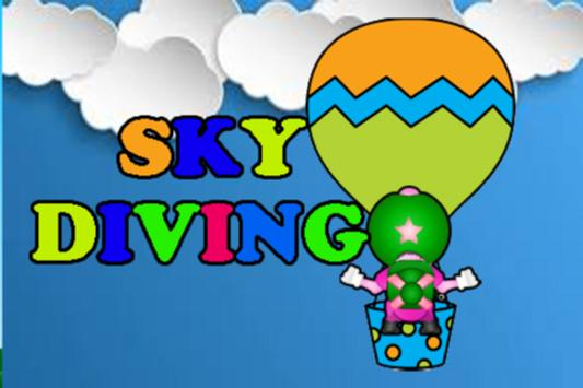 Skydiving games poster