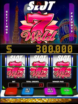 Slots Wild 7 Lucky Game poster