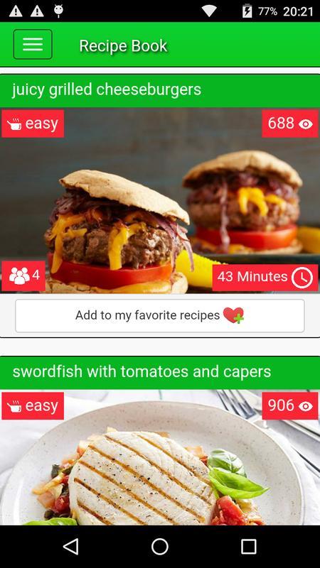 Recipe book descarga apk gratis comer y beber aplicacin para recipe book captura de pantalla de la apk forumfinder Gallery