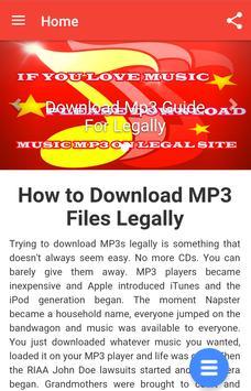 Download Mp3 Guide screenshot 2