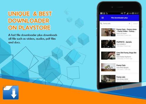 File Downloader All screenshot 2