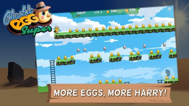 Super Chuckie Egg poster