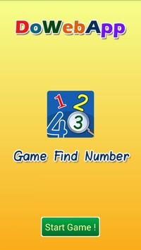 Find The Number Games poster