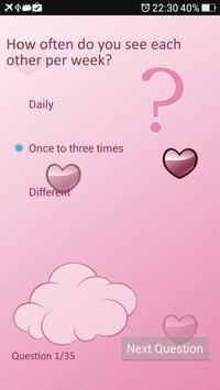 Ultimate love test apk screenshot