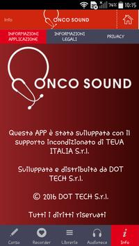 OncoSound apk screenshot