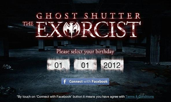 Ghost Shutter The Excorist poster