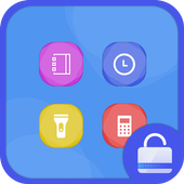 Colorful Stone Locker theme icon