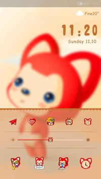 Ali Lock screen theme apk screenshot