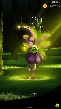 Elf Lock screen theme poster