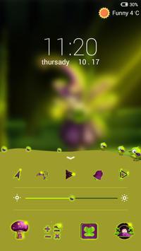Elf Lock screen theme apk screenshot