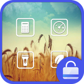 Harvest Lock screen theme icon
