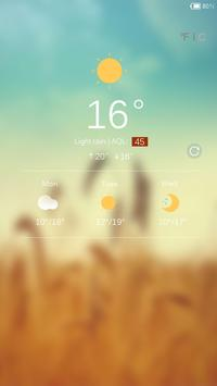 Harvest Lock screen theme apk screenshot