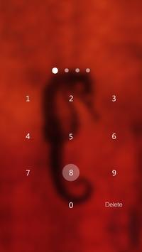 Hippocampus Locker theme apk screenshot