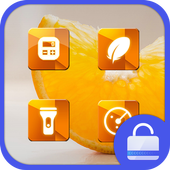 Sweet Orange Locker theme icon