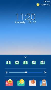 Travel Lock screen theme apk screenshot