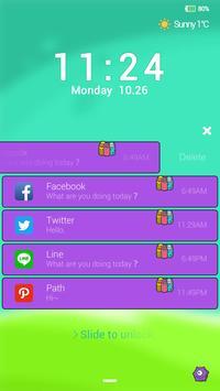 The Monster Locker theme apk screenshot