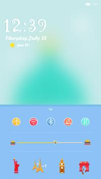 Romantic-iDO Lockscreen screenshot 1