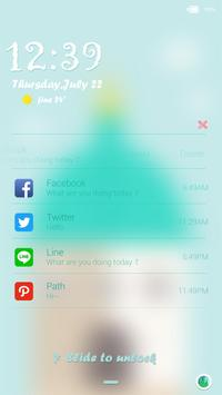 Romantic-iDO Lockscreen apk screenshot